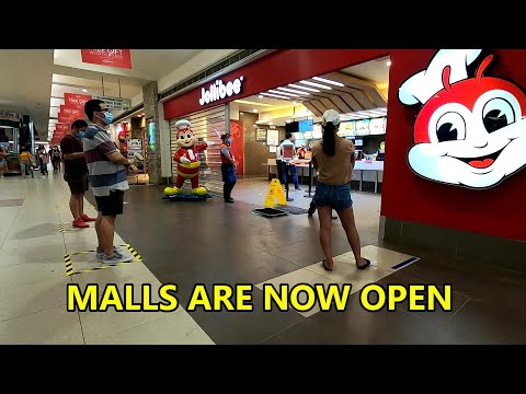 MALLS ARE OPEN, CEBU CITY, CEBU, PHILIPPINES