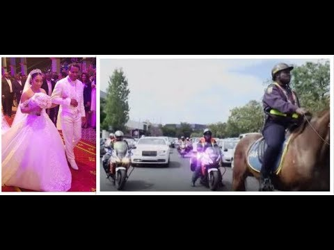 See How Pastor Chris Arrived & Presented Daughter on Wedding Day in Motorcade, Protocol & Pomp