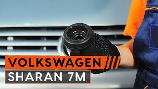 Wie VW SHARAN (7M8, 7M9, 7M6) Federbein auswechseln - Tutorial