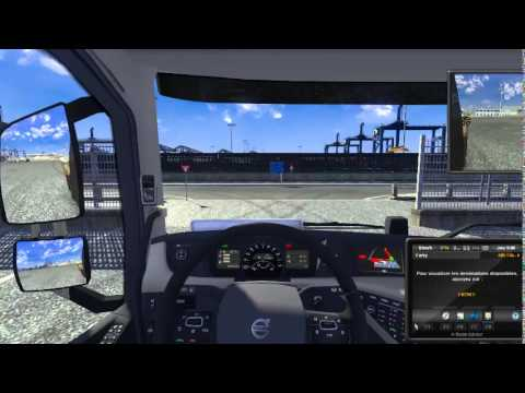 Euro Truck Simulator 2: Convoie Exceptionnelle (Rotterdam - Felixstowe)