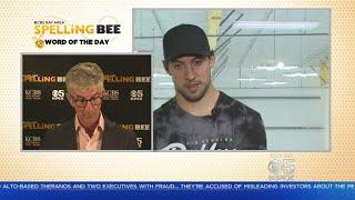 SPELLING BEE CHALLENGE: San Jose Sharks Brenden Dillion Takes The Spelling Bee Challenge