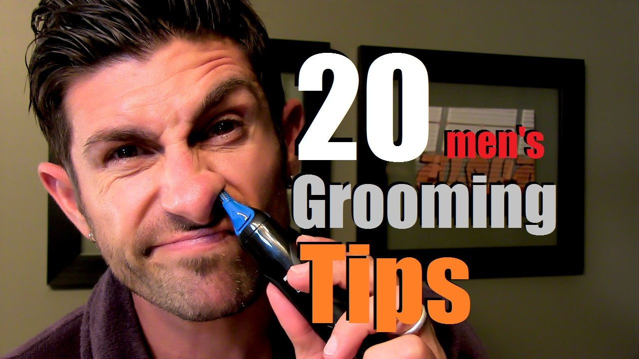 20 simple grooming tips every man should know youtube. Black Bedroom Furniture Sets. Home Design Ideas