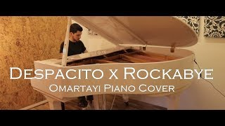 luis fonsi despacito ft daddy yankee justin bieber clean bandit rockabye mashup piano cover