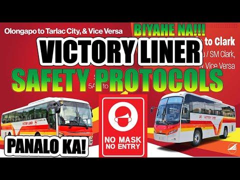 VICTORY LINER BUS MAY BYAHE NA! VICTORY LINER SAFETY PROTOCOLS SA NEW NORMAL - SA VICTORY PANALO KA!