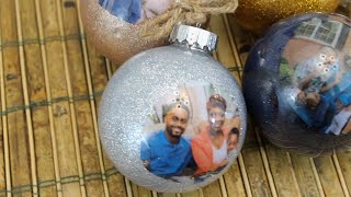 Viewer Gift Idea: How to Make a DIY Photo Ornament