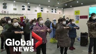 Coronavirus outbreak: A look inside Wuhan hospital for those with symptoms