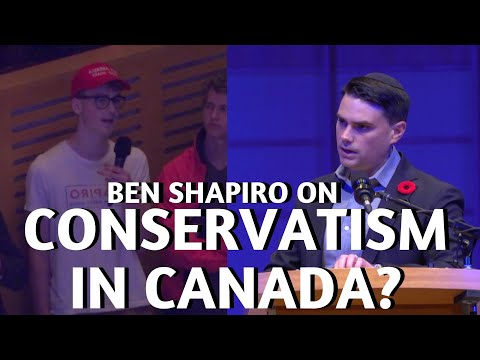 Ben Shapiro Critiques The Conservative Party Of Canada