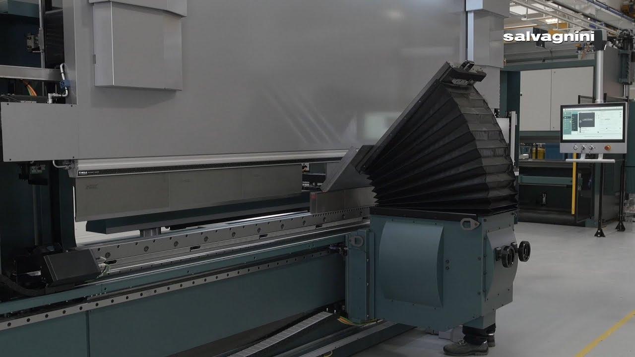 Salvagnini bending: B3 press brake with sheet follower