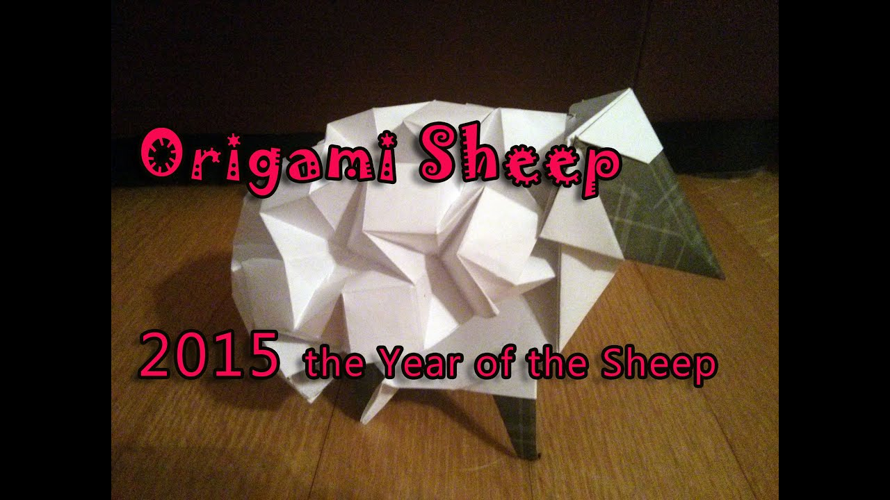 Origami Sheep Stop Motion Animation 2015 Year Of The Tutorials In Descrip