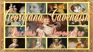 Georgiana Cavendish Duchess of Devonshire 1757-1806