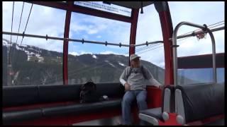 Peak 2 Peak は、ウィスラー山とブロッコム山を継なぐゴンドラのことで...