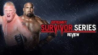 WWE Survivor Series 2016 Review, Results & Reactions
