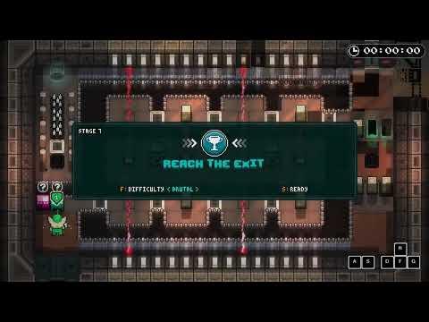Invisigun Reloaded (PC) - Epi Journey Speedrun Clips (All Chips) |