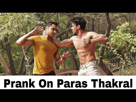 Prank on Paras Thakral || Fitmanjeet