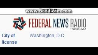 WFED Federal News Radio 1500 AM Washington, DC TOTH ID at 4:00 a.m. TOTH 7/17/2014
