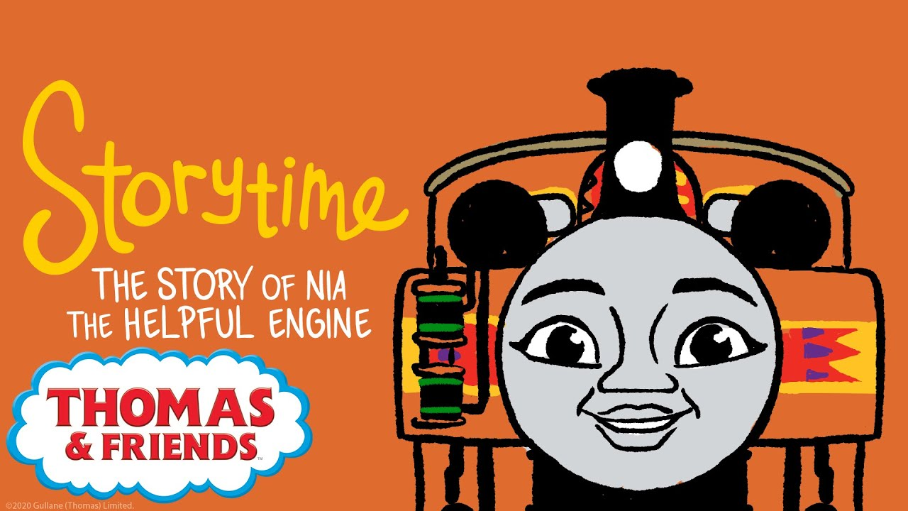 Thomas Friends The Story Of Nia The Helpful Engine New Story Ti Thomas And Friends Thomas Story Time