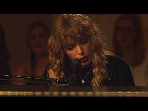 Taylor Swift reputation Secret Sessions...