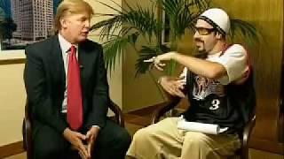 ali g and donald trump