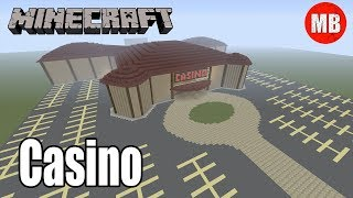 Minecraft Casino |  Bowling Alley + Horse Racing Track
