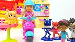 Dottoressa Peluche Super Pigiamini - Giochi per bambini con bambole, Mixt Barbie Evi Love Magica Emy