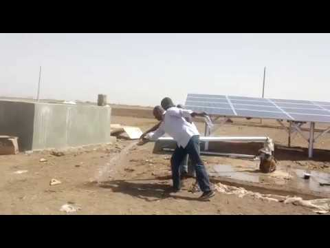 PuraNova Solar Submersible Pump System in Sudan