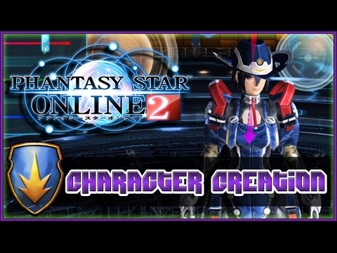 Phantasy Star Online 2 - In-Depth Character Creation