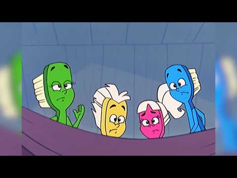 The Visitors  The Toothbrush Family Full Episode  Puddle Jumper Children's Animation