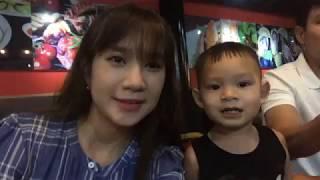 Gia Đình Lý Hải Minh Hà trải nghiệm buffet BBQ tại TTC Hotel