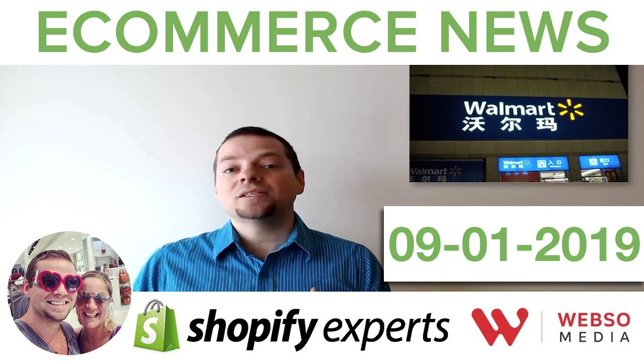 Ecommerce news January 9th 2019 - Amazon, Walmart, India and more