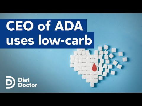 ADA CEO Uses Low Carb To Manage Type 2 Diabetes