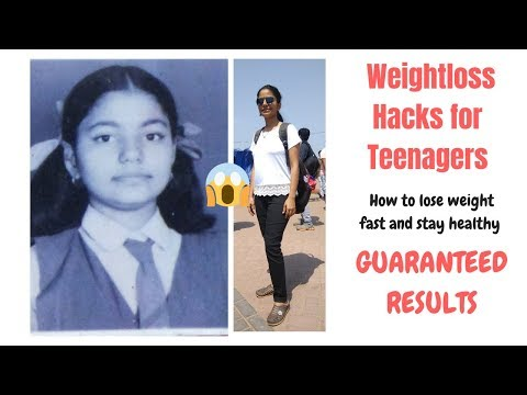 10 Weight loss Hacks for Teenagers| how to lose weight fast & stay fit|#weightloss #teenagers #hacks