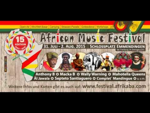 African Music Festival 2015 Radio-Spot