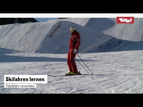 Skifahren lernen: Top 4 Skifahrfehler vermeiden I Skikurs ⛷