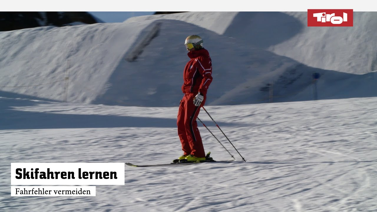 Skifahren lernen fahrfehler vermeiden skikurs online
