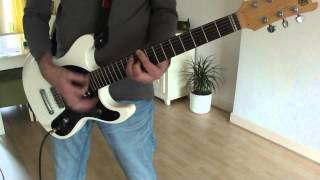 RAMONES - Commando live (guitar cover)