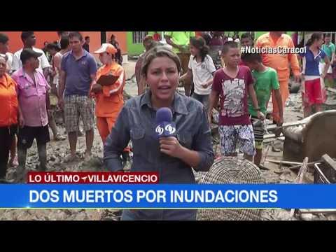 Dos muertos dejó el desbordamiento del caño Maizaro en Villavicencio