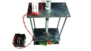 Build a Compressed Press Machine using 775 Reducer Motor