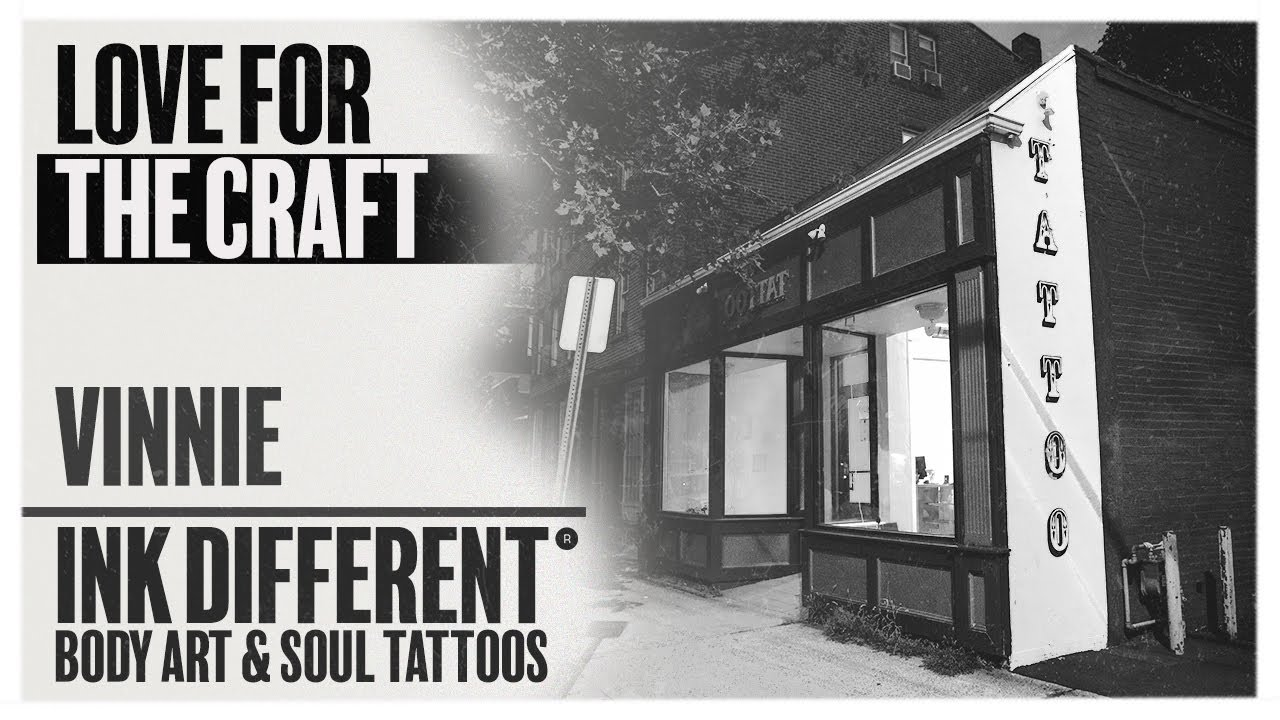 Love For The Craft Hear From A Tattoo Artist At Body Art Soul Tattoos Vinnie Youtube