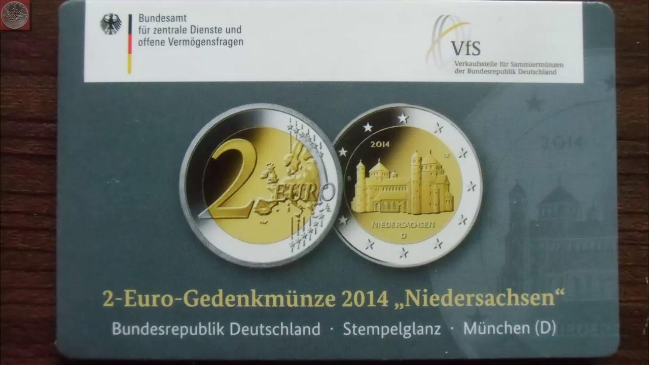 2 Euro Sondermünzen Messeausgaben Der Vfs Weiden Youtube