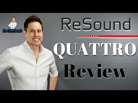 NEW ReSound LiNX Quattro Made for Android & iPhone Hearing