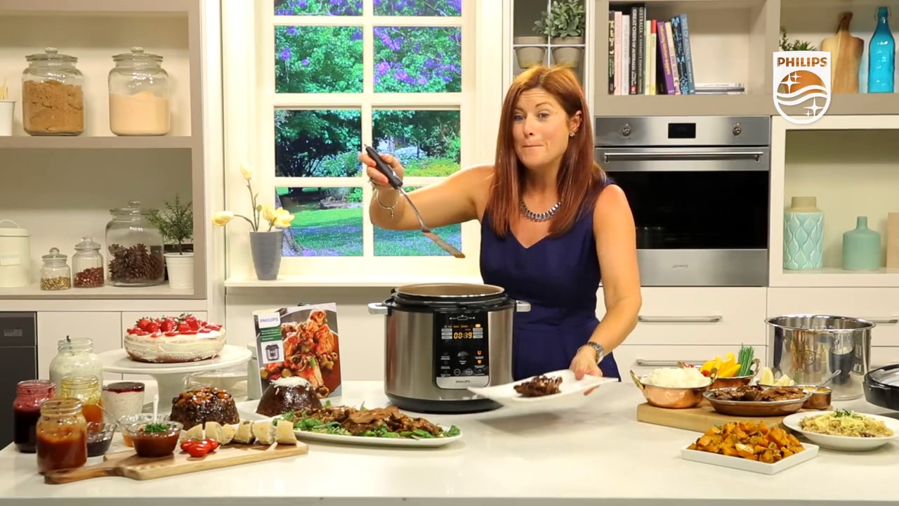 Philips All-In-One Cooker - Cooking Tender Meat - YouTube