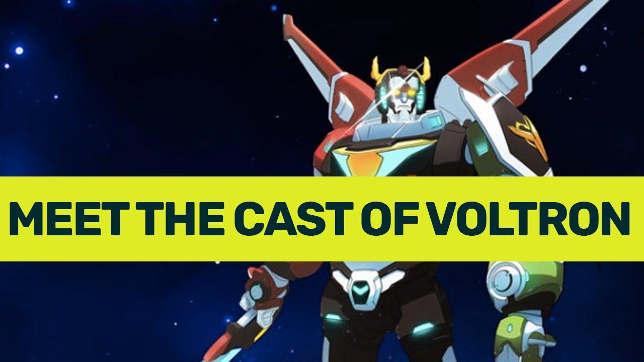 Meet the cast of Voltron: Legendary Defender - pt. 1 - YouTube