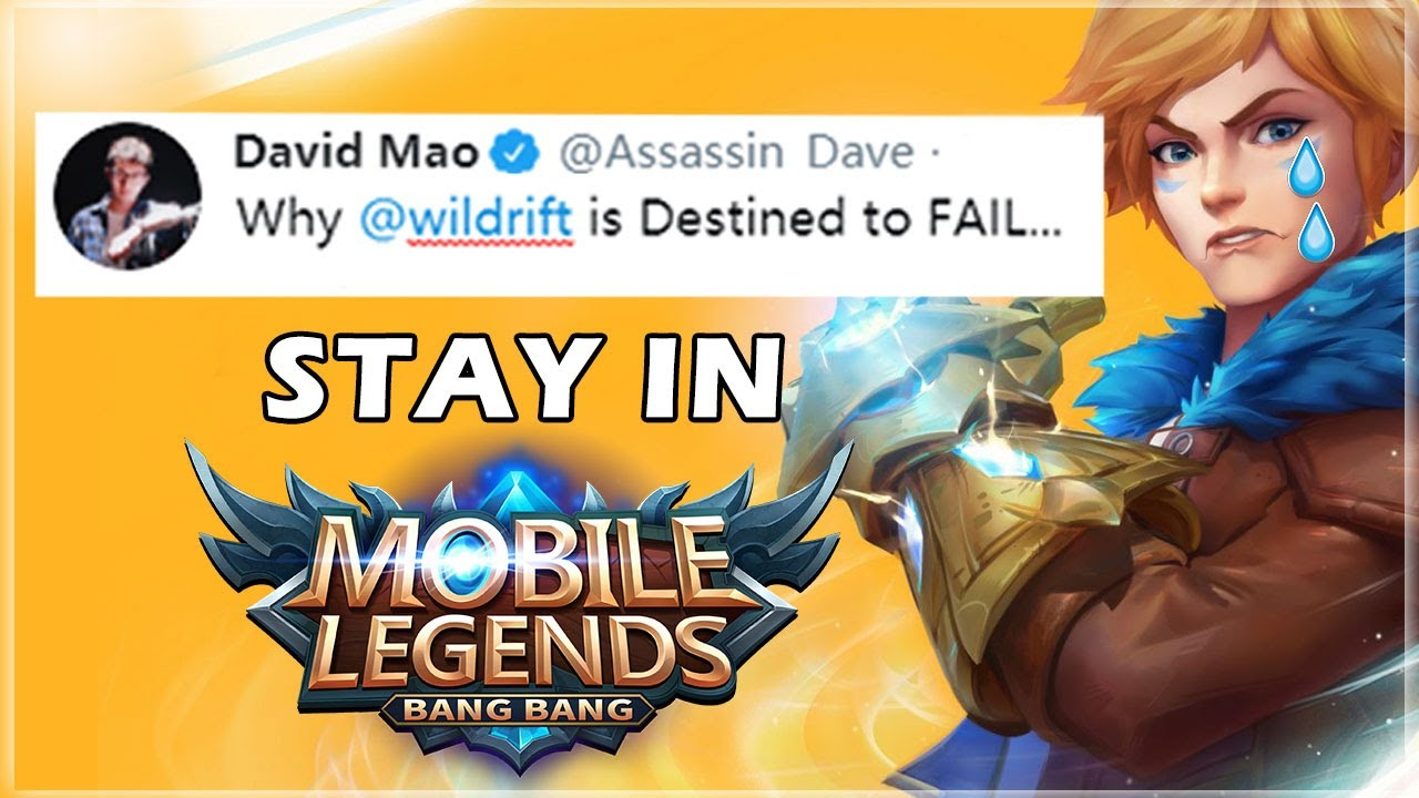 Why LoL Wild Rift is DESTINED to FAIL... Dave Talk