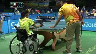 Baixar Table Tennis | ITA x THA | Women's Singles Class 1/2 | Rio 2016 Paralympic games