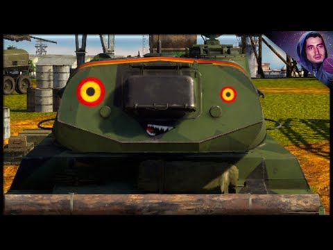 Printing Money W/ The Object 120 (War Thunder Tank Gameplay)