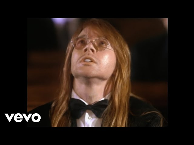 Guns N' Roses - November Rain (Official Music Video)