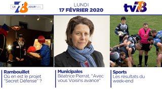 7/8 Le Journal. Edition du lundi 17 février 2020