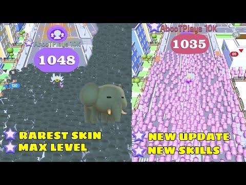 Crowd City - RAREST GIANT ELEPHANT (HIGHEST SCORE 1048+) NEW UPDATE!! ‹ AbooTPlays ›