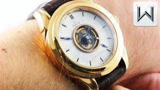 Shop all Omega watches: http://bit.ly/2v2XXR9 The Omega Tourbillon ...