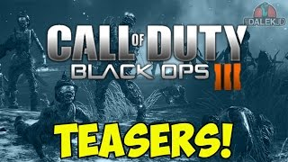 Call of Duty: Black Ops 3 - NEW Zombies Teasers! Treyarch DICE Presentation BREAKDOWN!